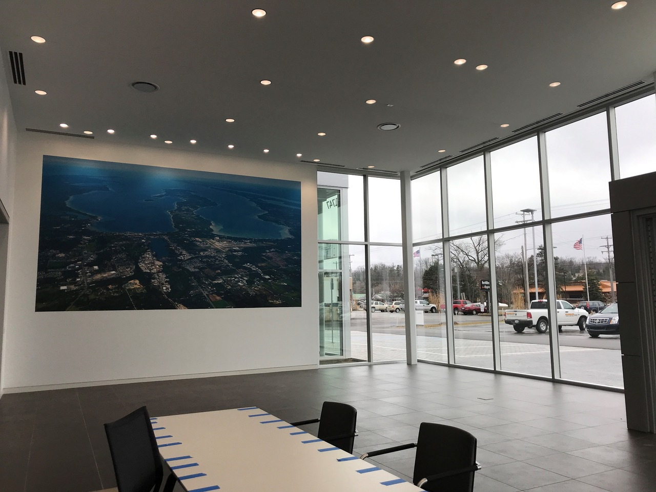 Serra Automotive Group Showroom in Traverse City