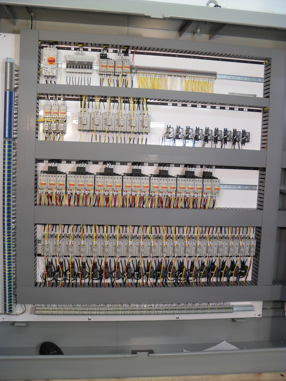 Control Panels Shoreline Power Services Electrical
